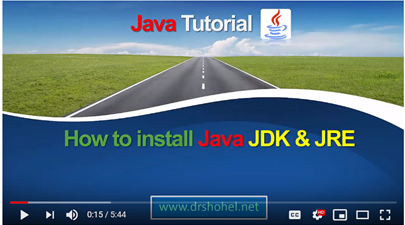 How to setup Java JDK and JRE in Windows Operating System